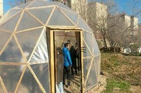 Aquí podéis ver el magnífico invernadero del centro (Fuente: www.madridsalud.es)