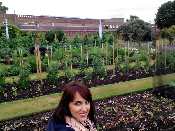 Visitando Kew on a Plate Kitchen Garden