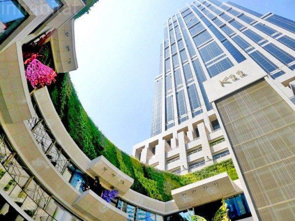 Aquí tenemos el K11. Uno de los edificios más impresionantes de Shanghai.