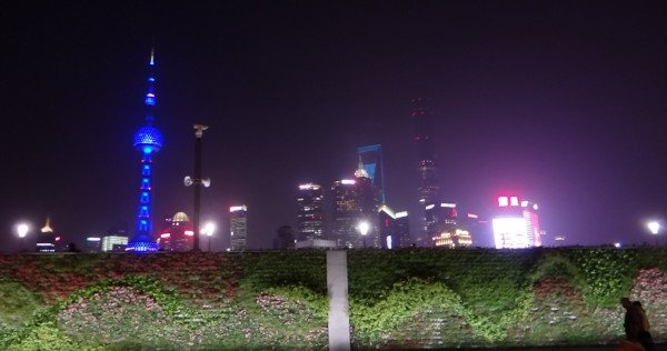 Naturación Urbana en Shanghai