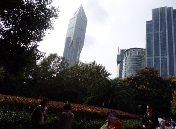 Renmin Park en Shanghai : El parque del pueblo