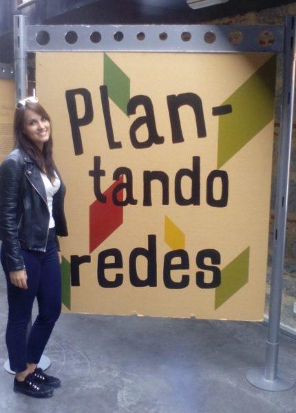 Exposición Plantando Redes en el huerto El Retiro de Madrid