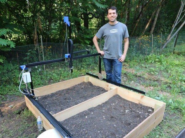 Huerto robotizado FarmBot