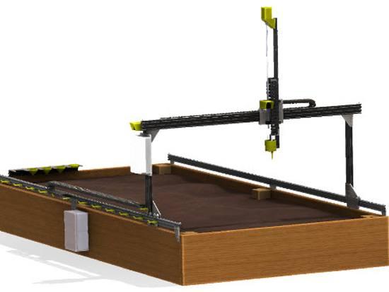 Huerto robotizado: robot para el huerto