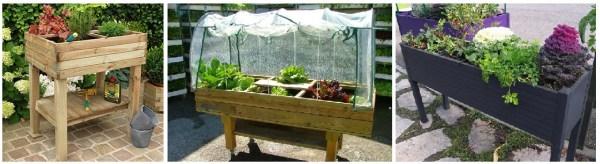tipos de mesas de cultivo