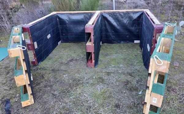 hacer una compostera casera paso a paso