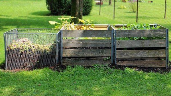 hacer composta casera para abonar el huerto
