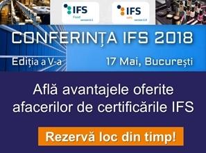 Conferinta IFS 2018
