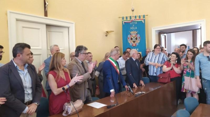 Nola, convocato per il 18 luglio il primo consiglio comunale della nuova amministrazione