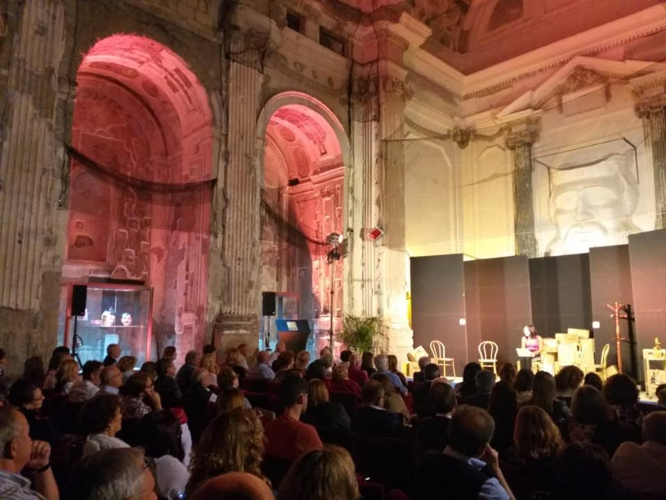 Teatro in mostra al Museo. Successo di pubblico per le prime due serate.