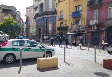 CoronaVirus, la Polizia Metropolitana fornisce supporto alle associazioni di volontariato.
