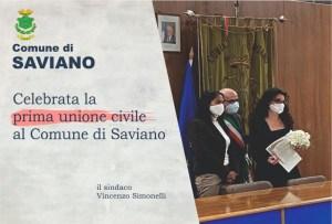 Saviano, prima storica unione civile tra persone dello stesso sesso