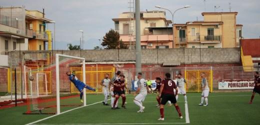 """Il Saviano 1960 si ferma al """"Gobbato"""". Il Pomigliano si impone 3-1"""