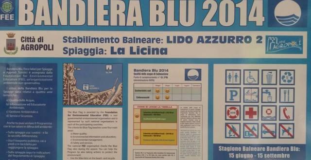LIDO AZZURRO BANDIERA BLU