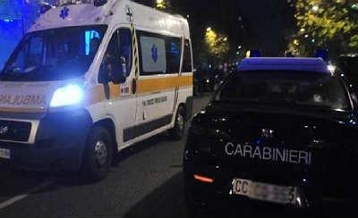 carabinieri-ambulanza-notte