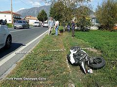 motocicletta sanza