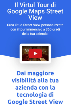 virtual tour di google