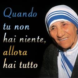 Le Invenzioni Della Chiesa Cattolica Madre Teresa Di Calcutta Ed I