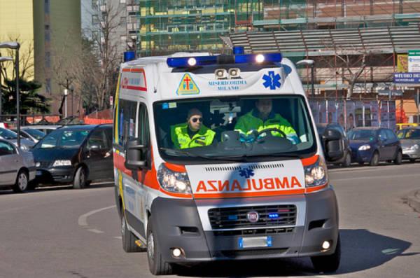 ambulanza in corsa corsa corsa