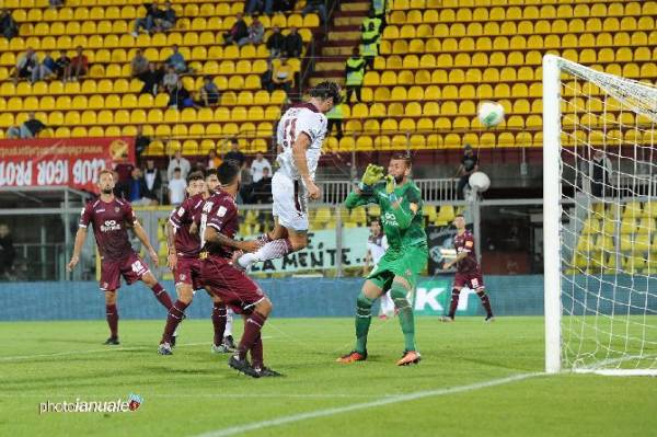 salernitana goal al 91