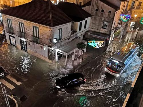 Pastena-allagata-meteo-salerno-maltempo-pioggia