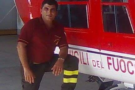 foto vigile del fuoco