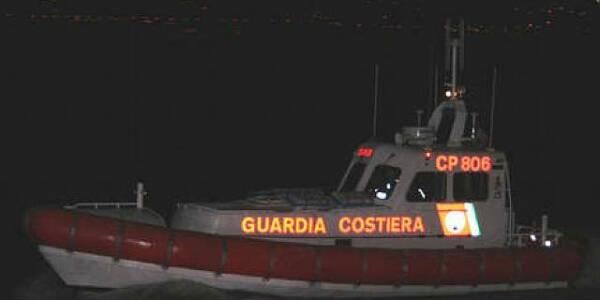 guardia costiera notte