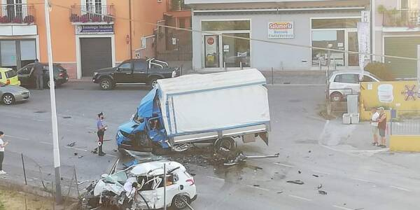 SALA CONSILINA INCIDENTE