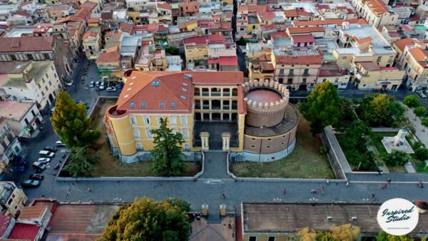 Angri-Castello-Doria-dallalto