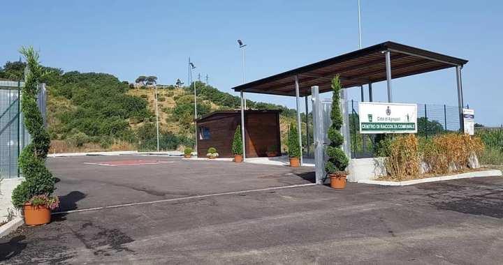 ingresso Centro raccolta comunale
