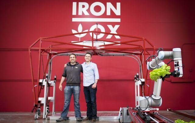 Automatización agrícola. Cultivar hortalizas con robots – Iron Ox
