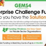 APPLY FOR GEMS4 ENTERPRISE CHALLENGE FUND