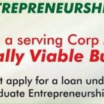 CORP MEMBERS: APPLY FOR GRADUATE ENTREPRENEURSHIP FUND