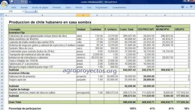 Proyectos CDI