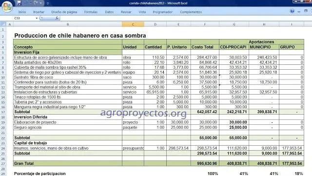 Ejemplo de Proyecto CDI Procapi