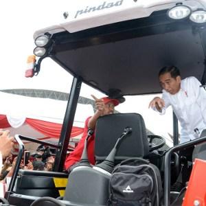 Presiden Jokowi Terus Membangun Infrastruktur Pertanian Tahun 2017