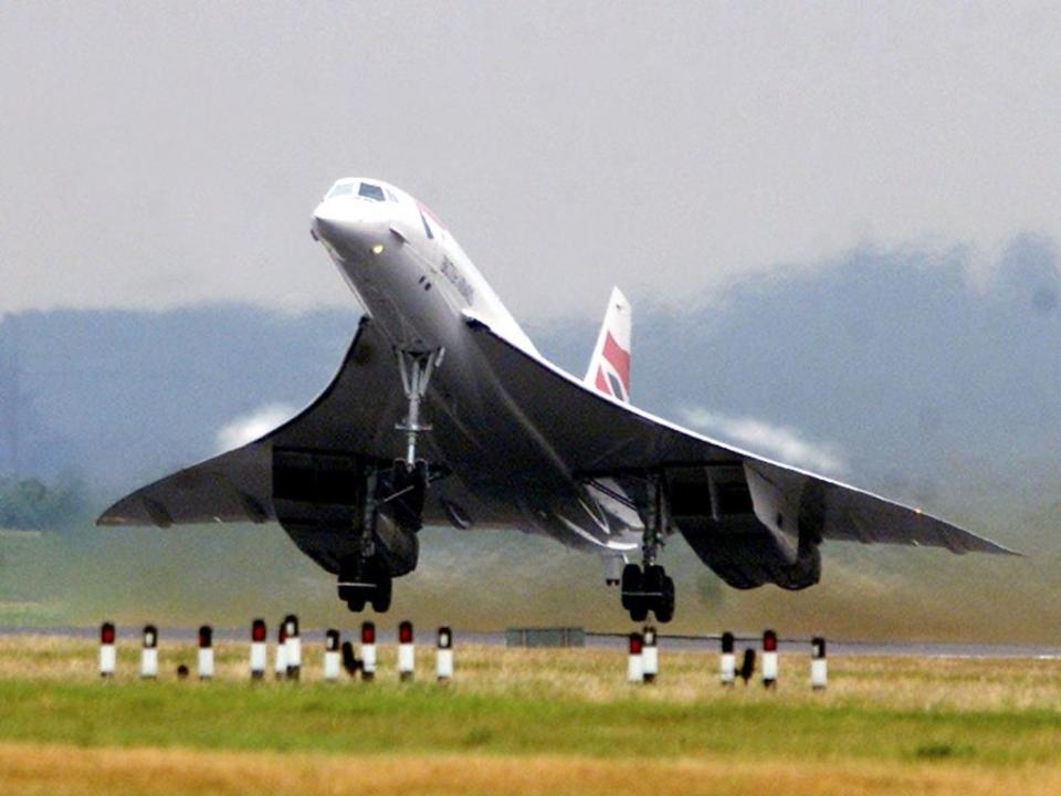 On January 21, 1976, two Concordes — one from each airline — took off simultaneously to mark the plane's first supersonic passenger flight.