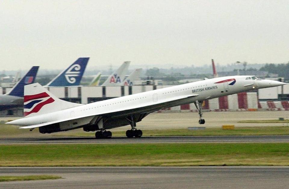 ... seven entered service with British Airways.