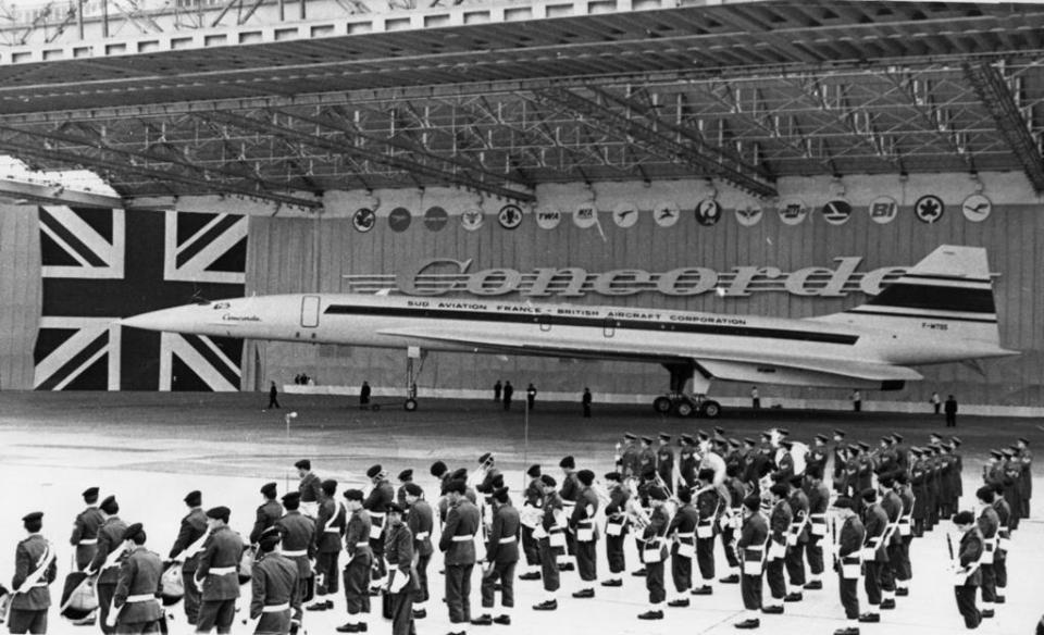 In 1967, the Concorde was presented to the public for the first time in Toulouse, France.