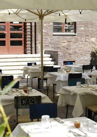 Pauly Saal Berlin Restaurant Terrace