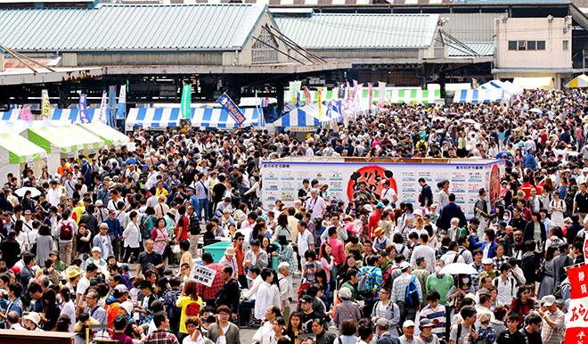 Tsukiji festival