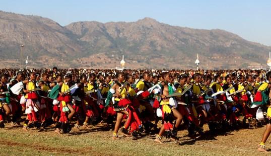 Swaziland Reed Dances