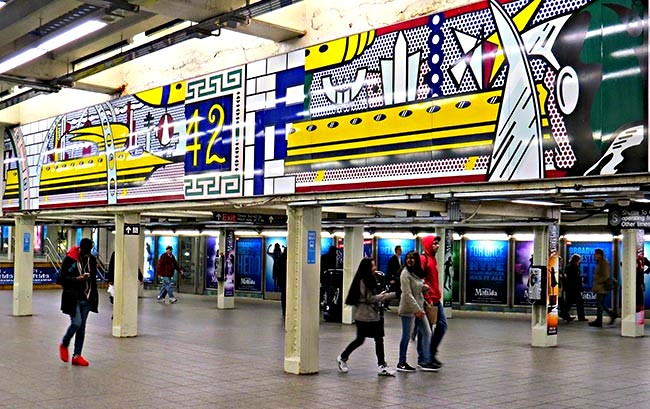Times Square Lichtenstein