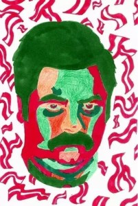 Ron Swanson Pop Art Portrait