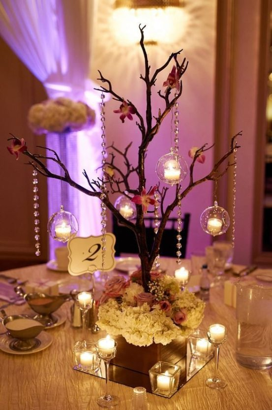 Wedding reception flowers ags event creations