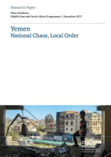 Chatham House Yemen Report