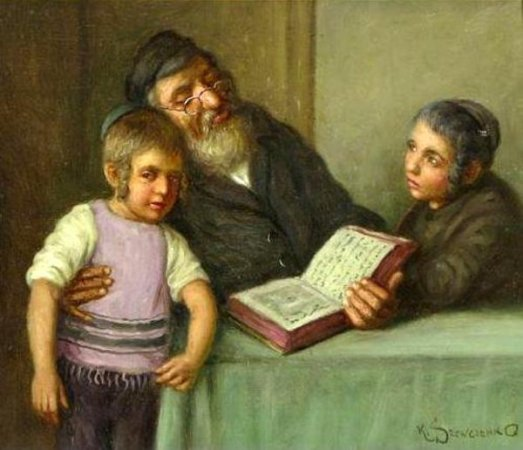 rabbi-and-his-students