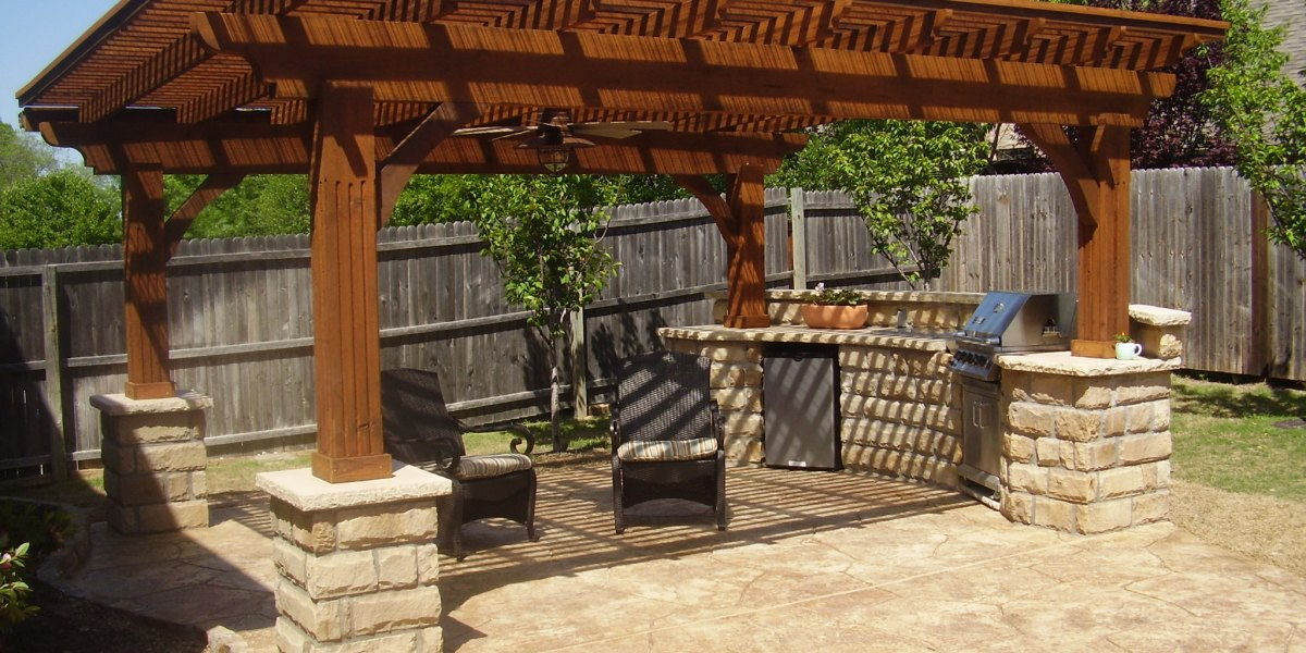 concrete patio | Agundez Concrete