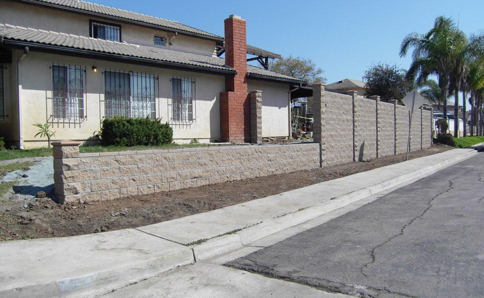 Block Walls in San Diego| Agundez Concrete