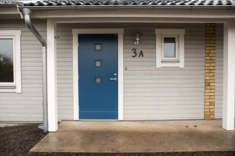 Inflyttning i de nyrenoverade lägenheterna